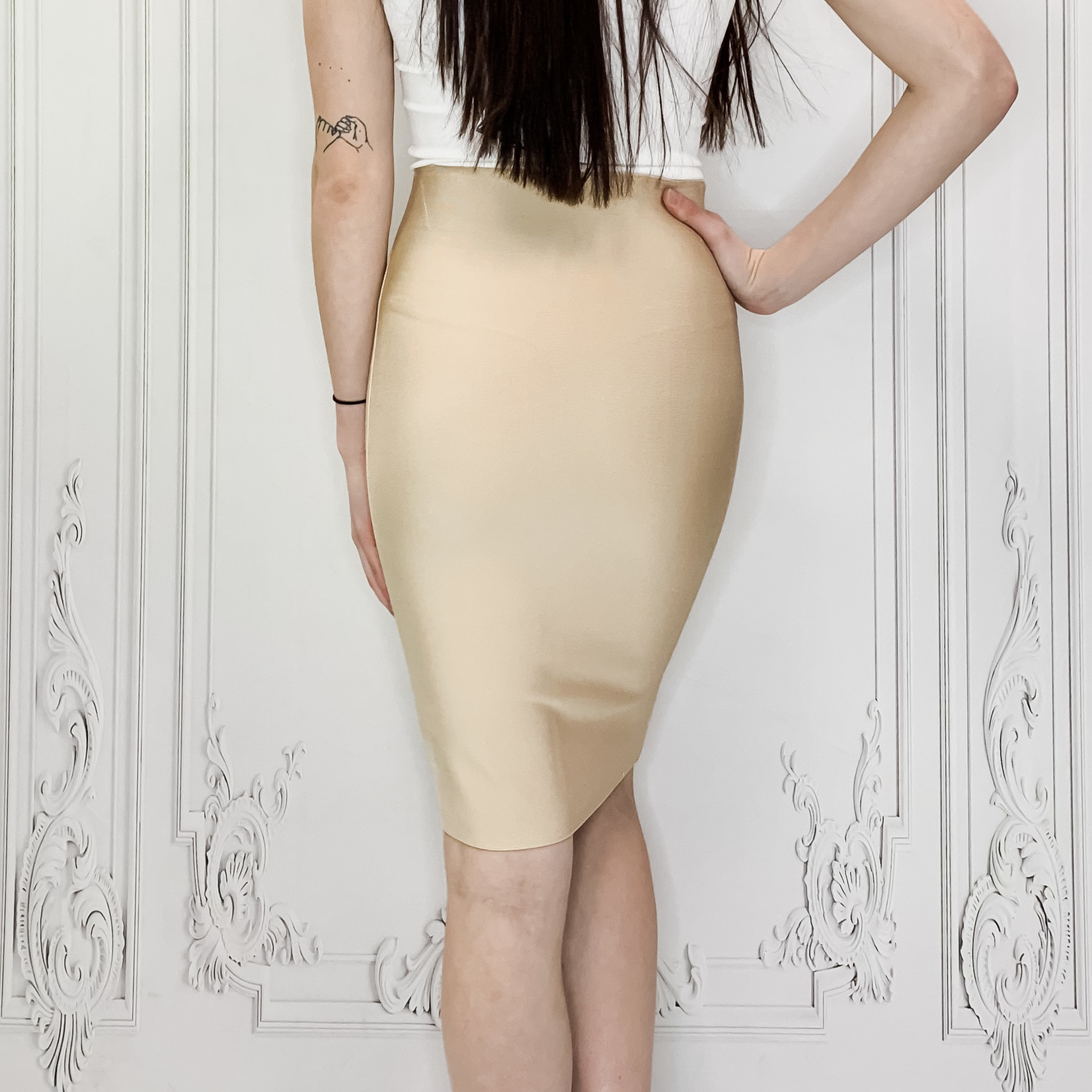 luxe pencil skirt