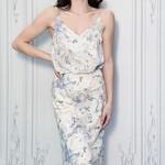 marble print cami top