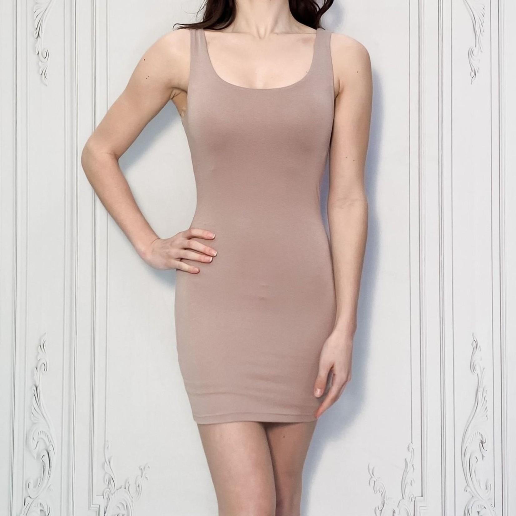 Diana double lined tank dress