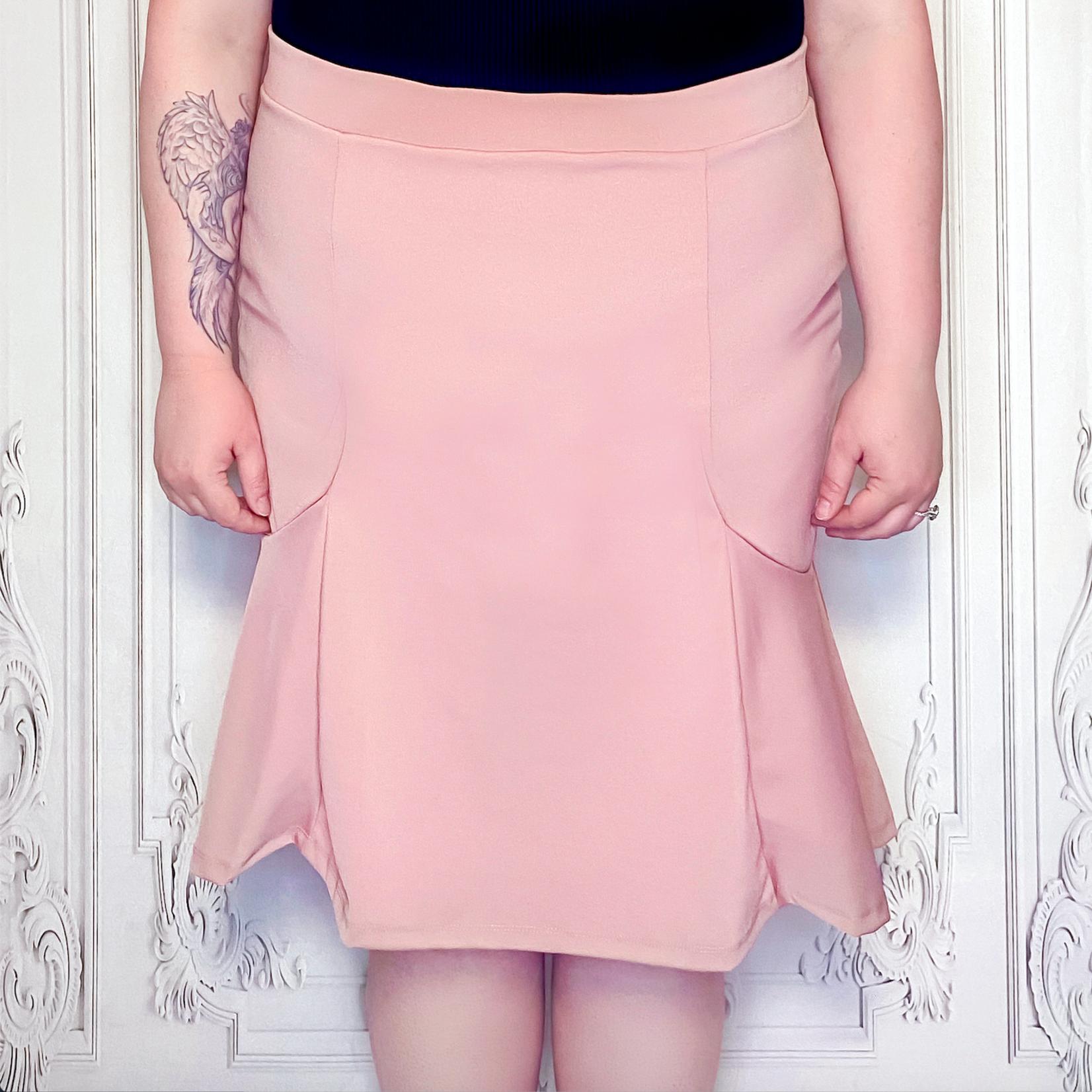 curvy mermaid skirt