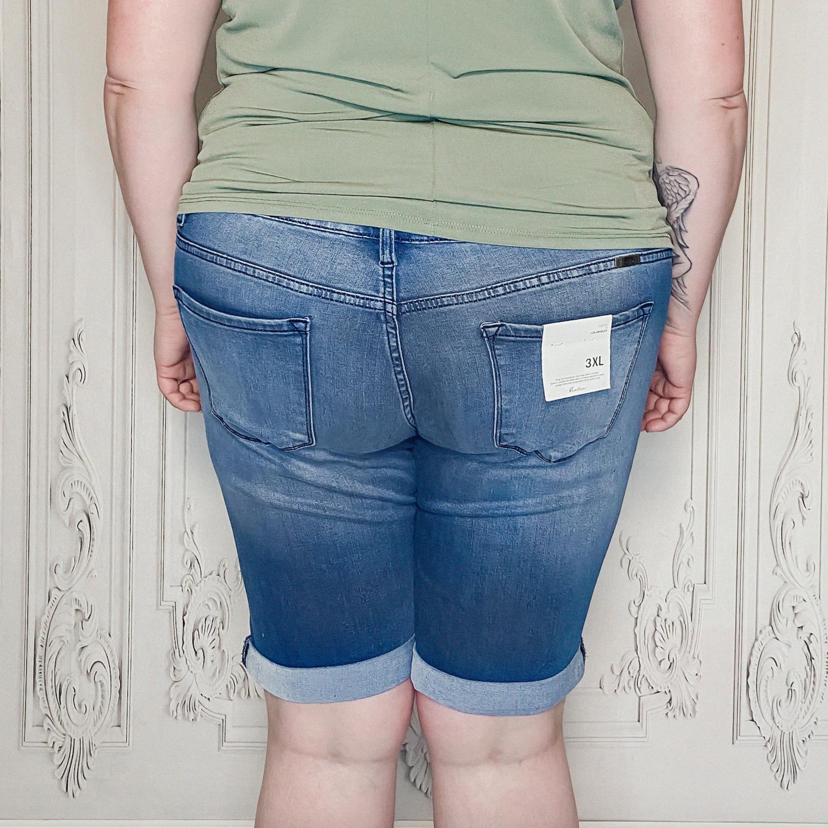 Kathy curvy bermuda shorts