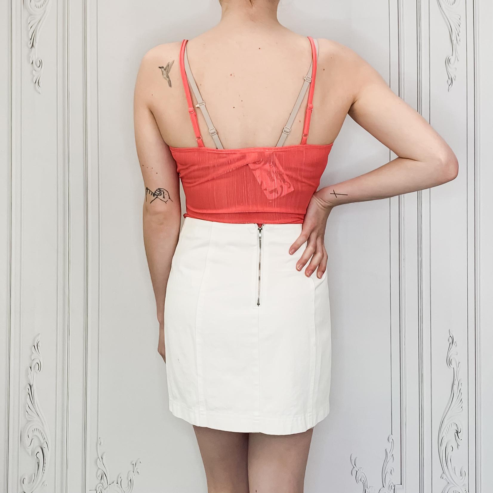 crossed bodysuit