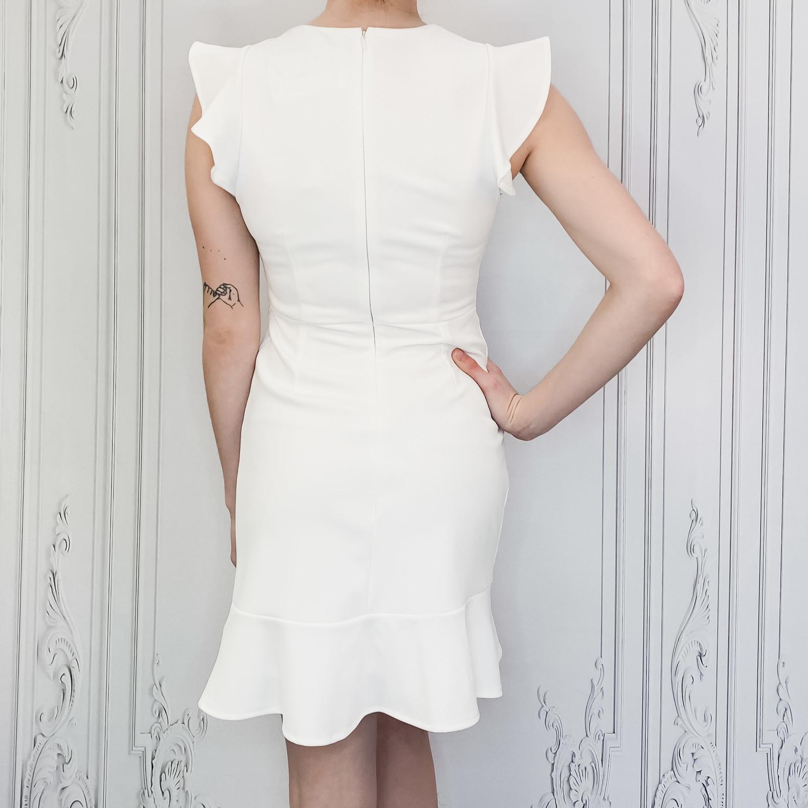 Sammy ruffled cap sleeve dress