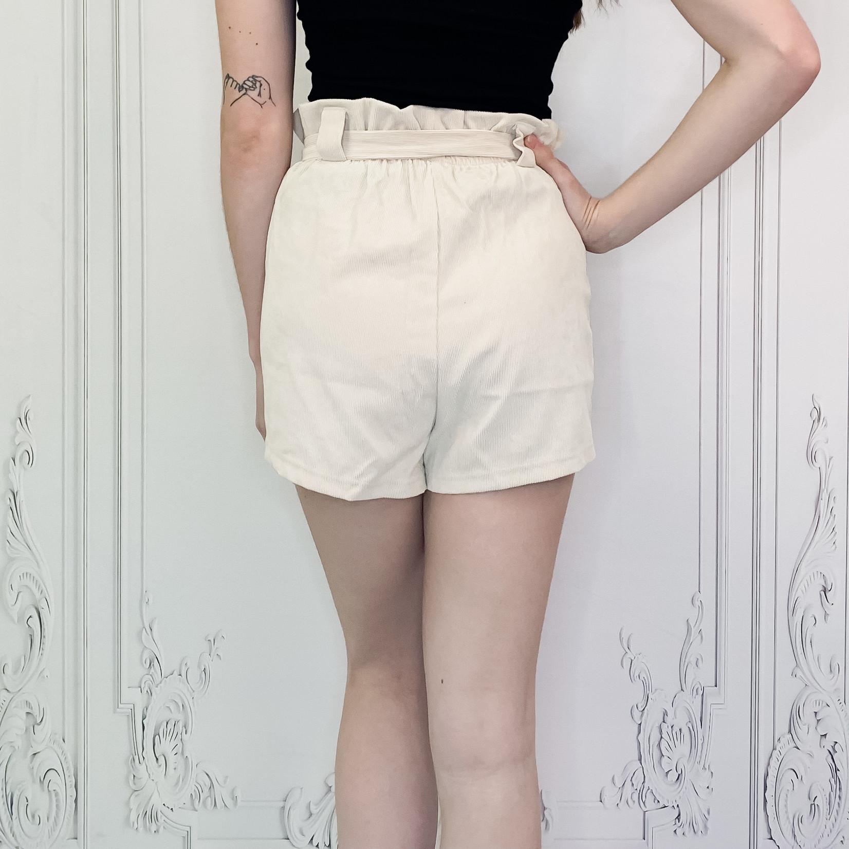 Sadie paperbag shorts