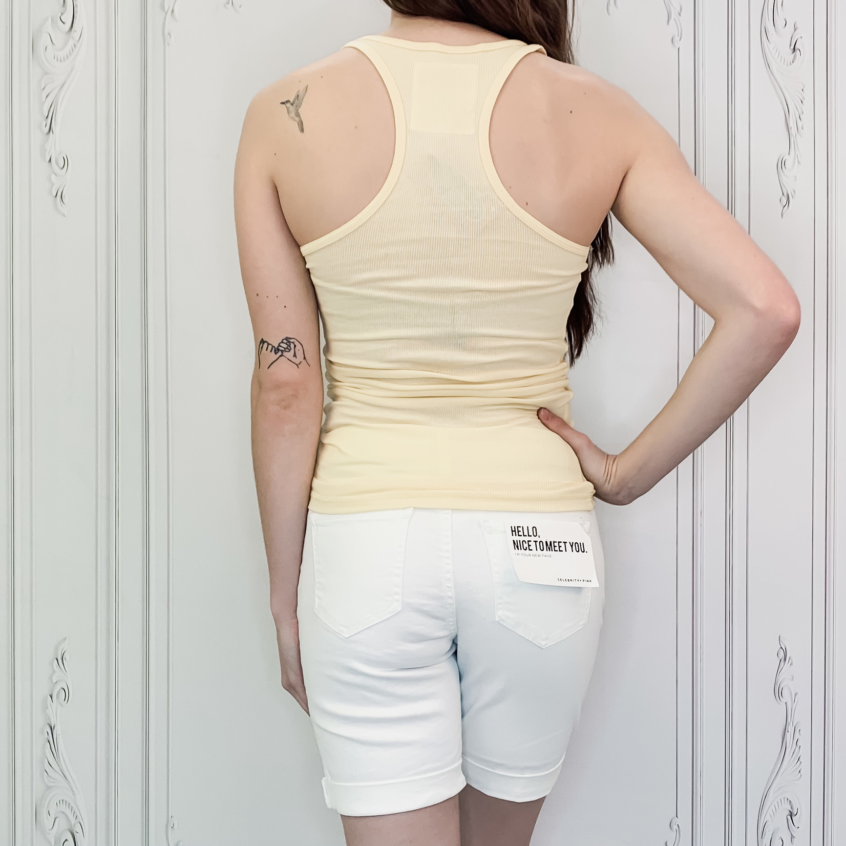 Cara bermuda shorts
