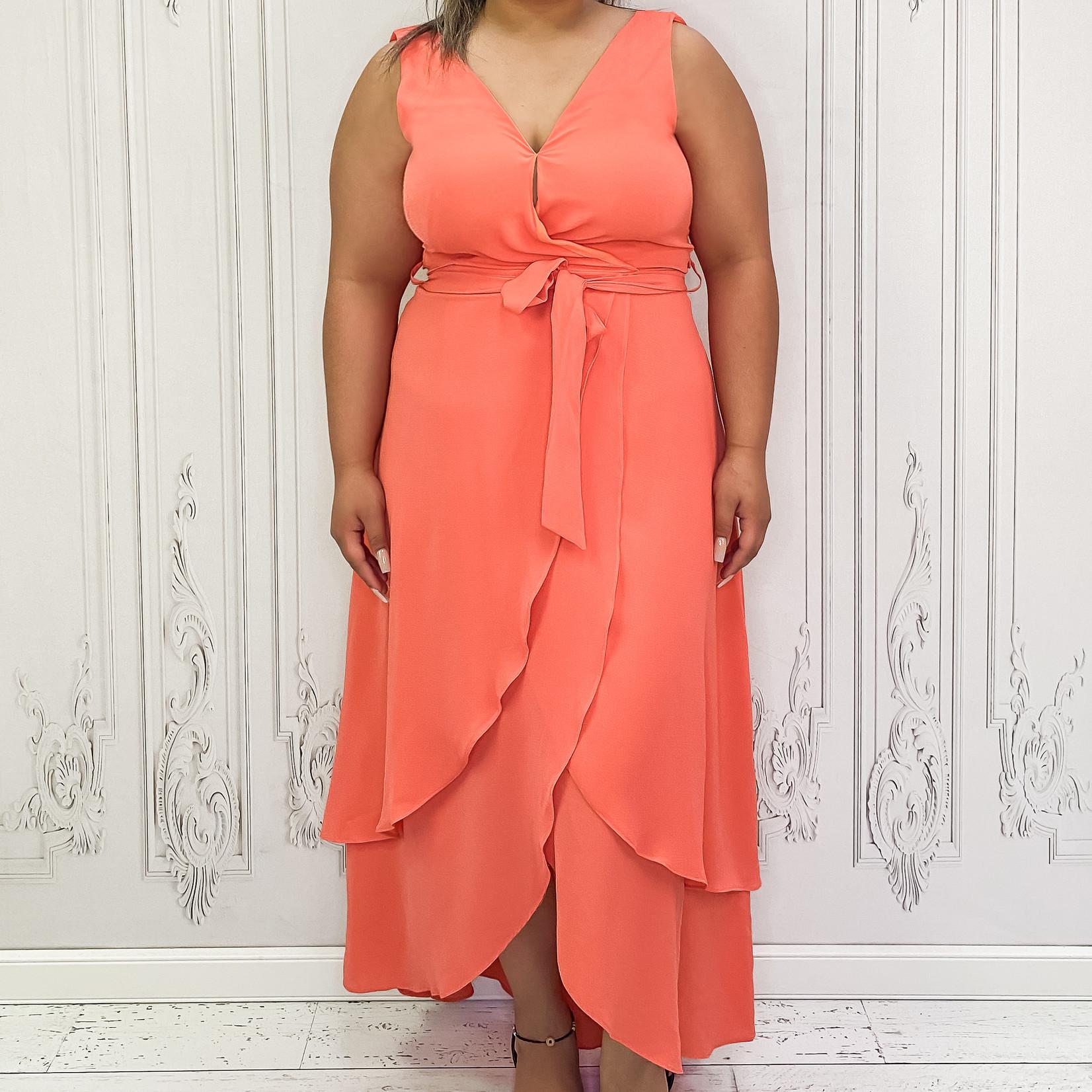 tie tank maxi dress