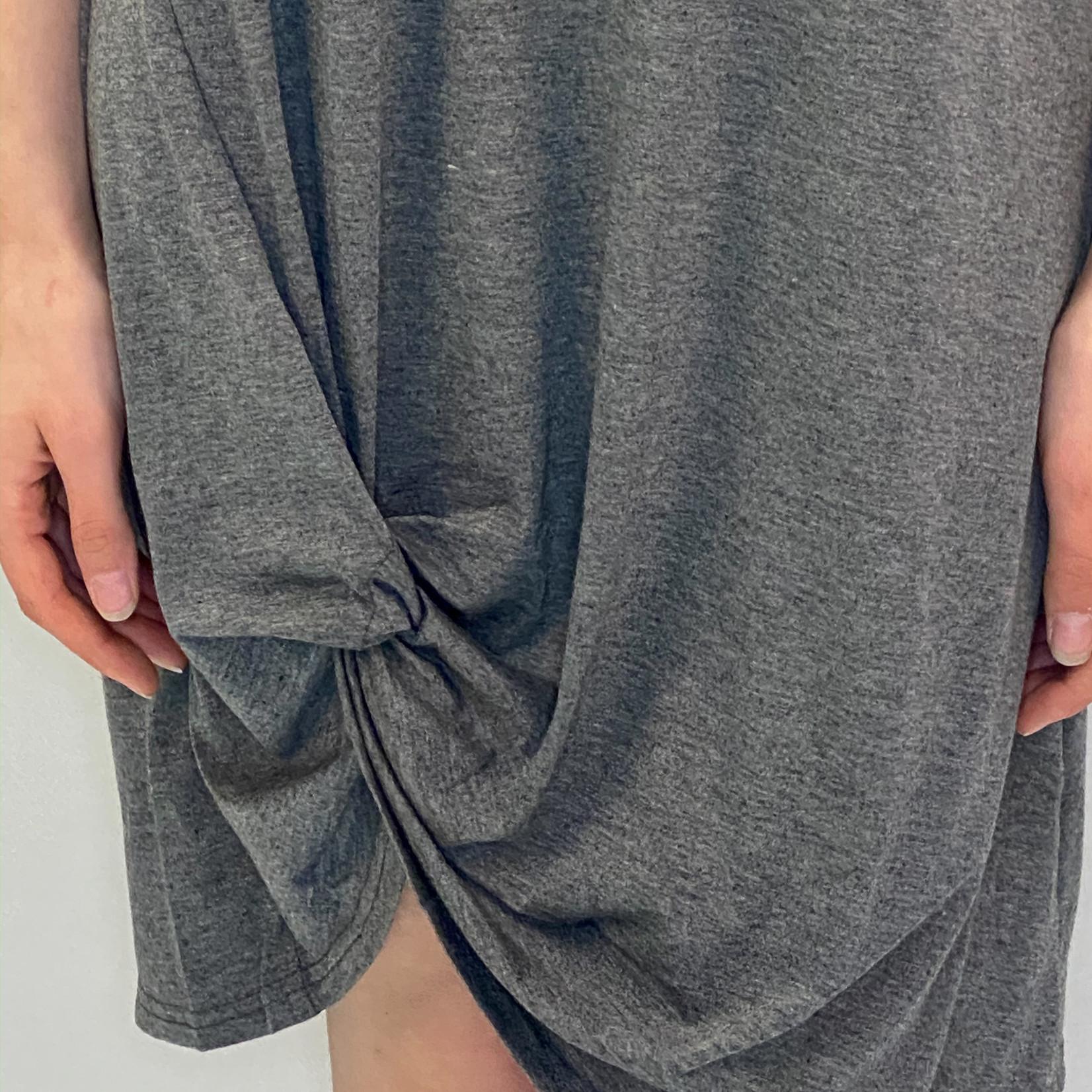 Sydney knotted  t-shirt dress