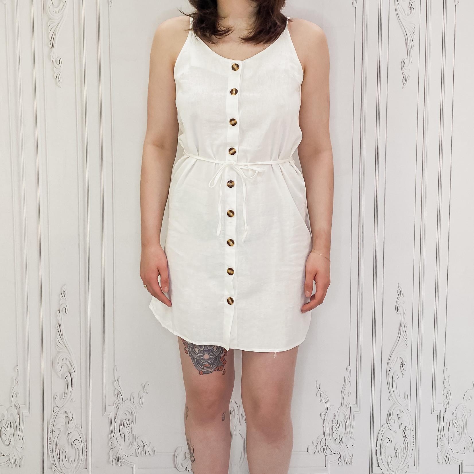 Alice wooden button sun dress