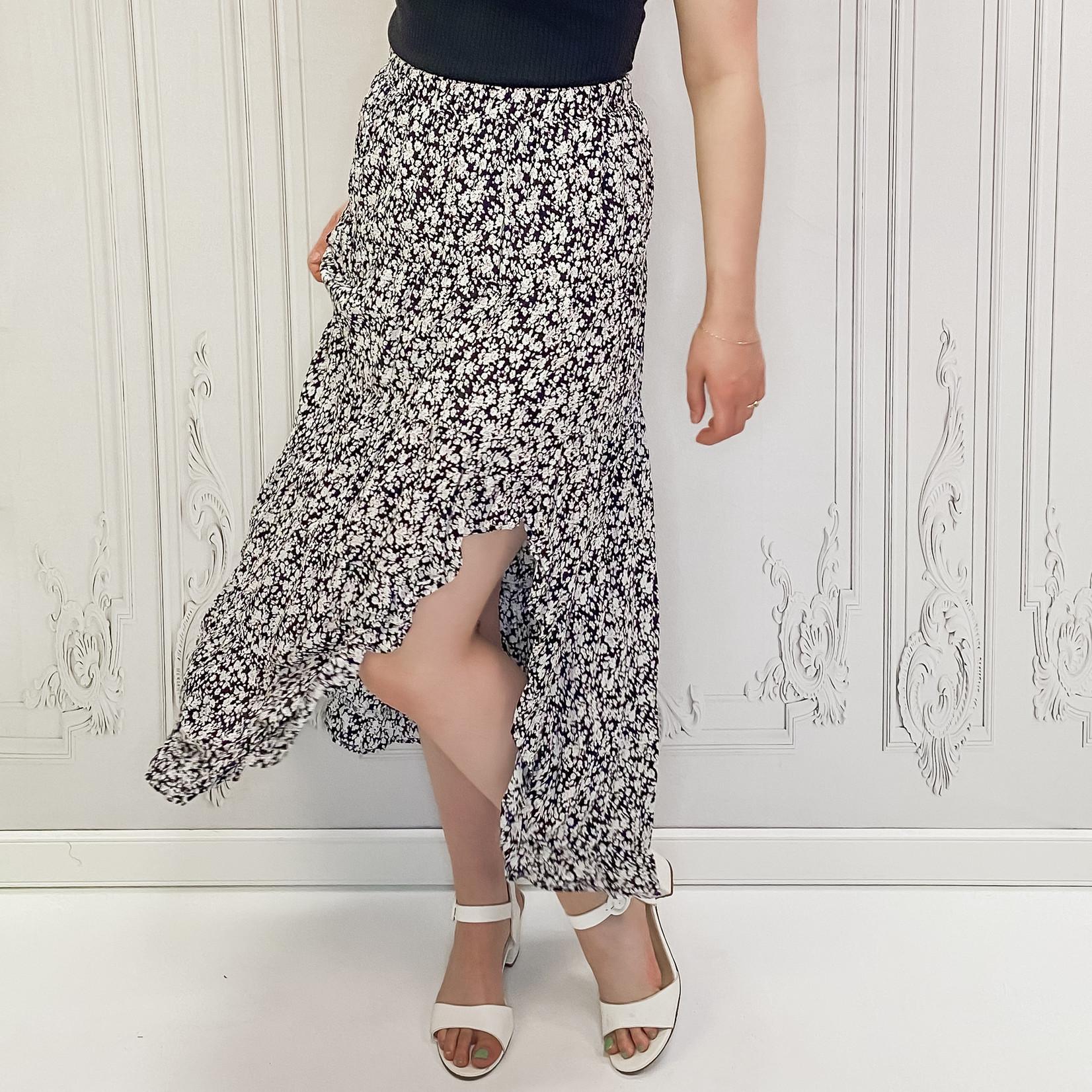 Salma flowy maxi skirt