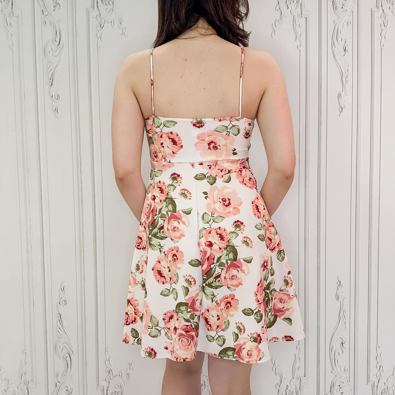 Yvette floral fit & flare dress