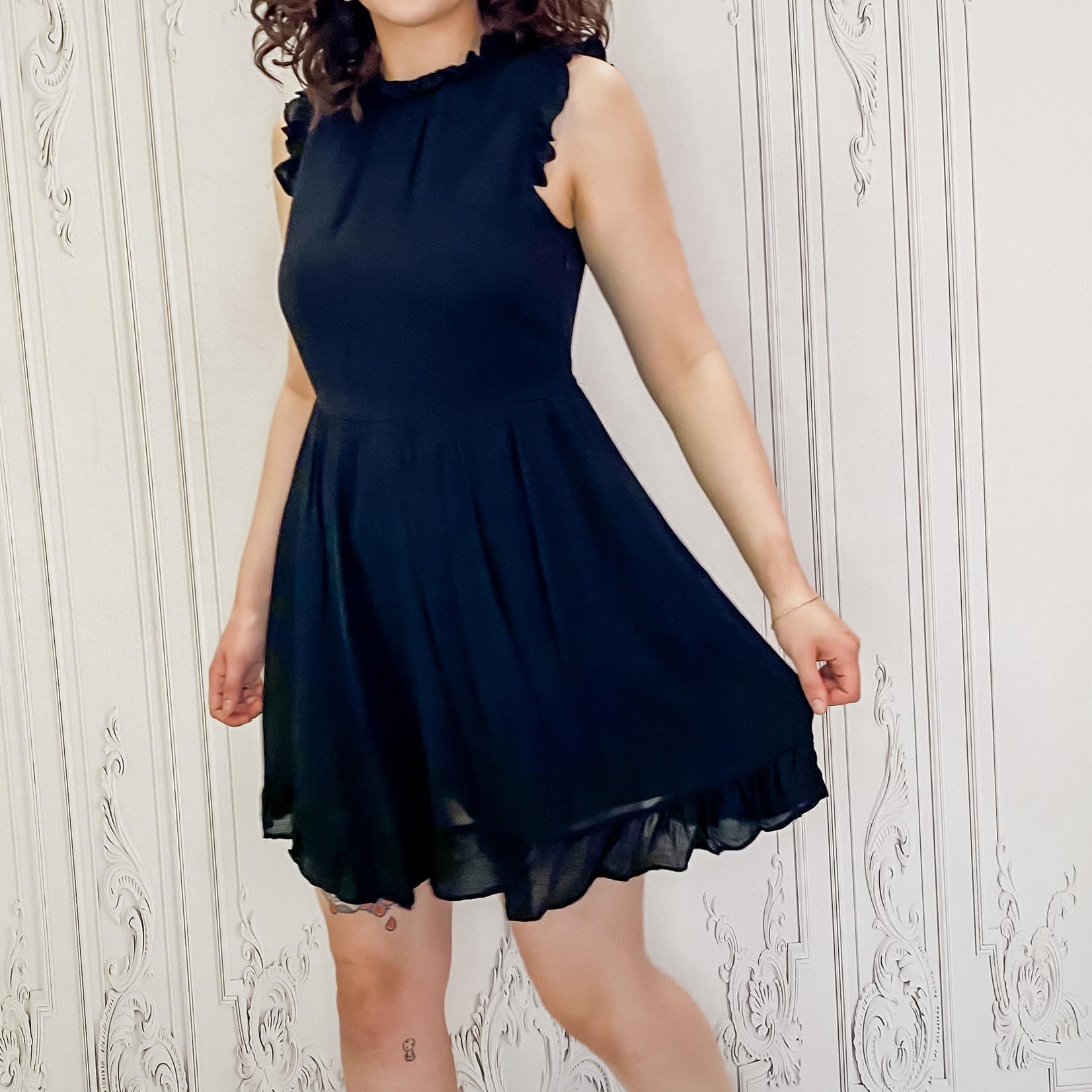 Shyla pocket babydoll dress