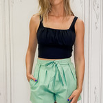 Pippa ruched tank top