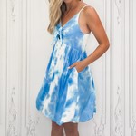 Shirley tie dye dress