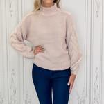 Rd Style - Balloon sleeve crop sweater