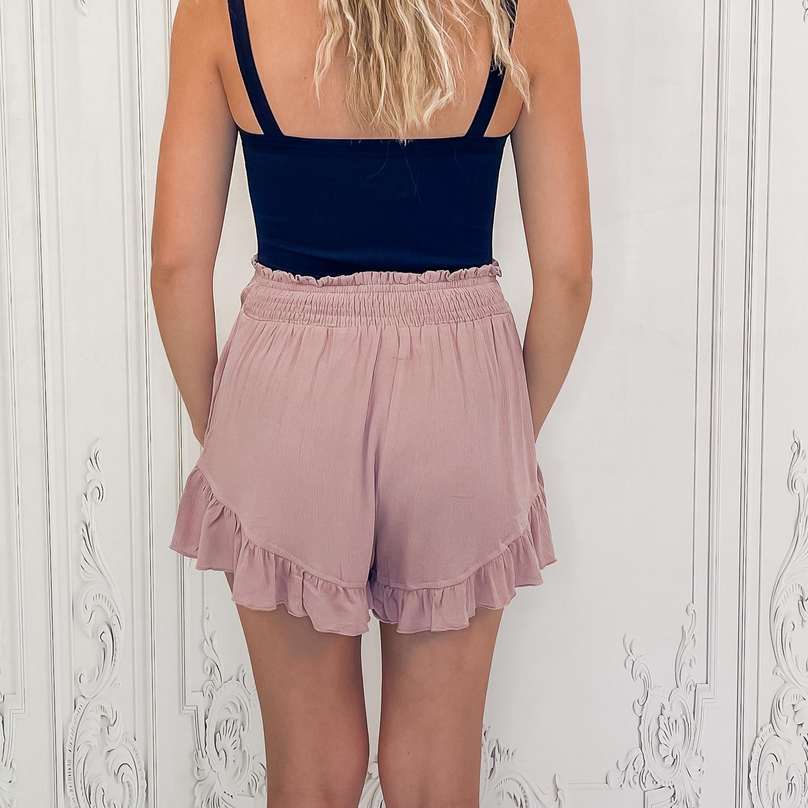 Lidya ruffle shorts