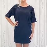 Zsupply - Delta slub t-shirt dress