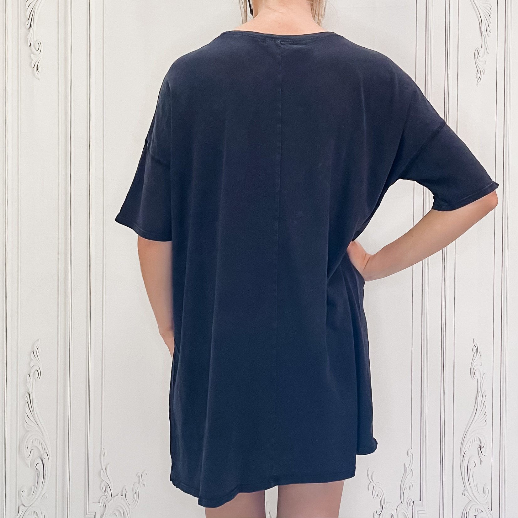 Dsupply - Delta slub t-shirt dress