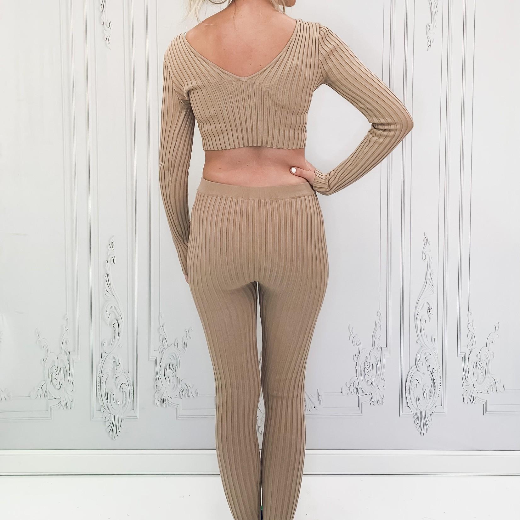 Havana knit legging set