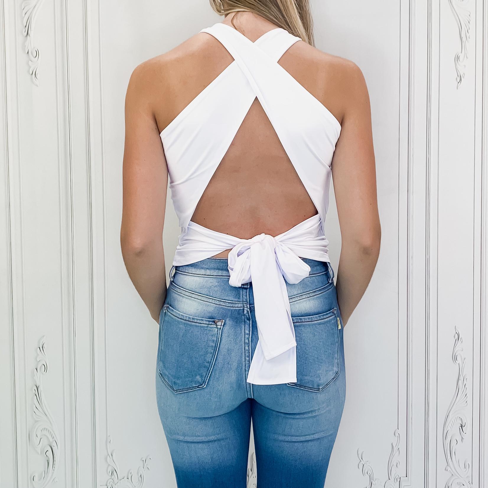 Tara open back top