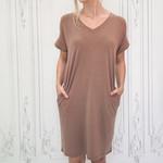 zadie Vneck t-shirt dress