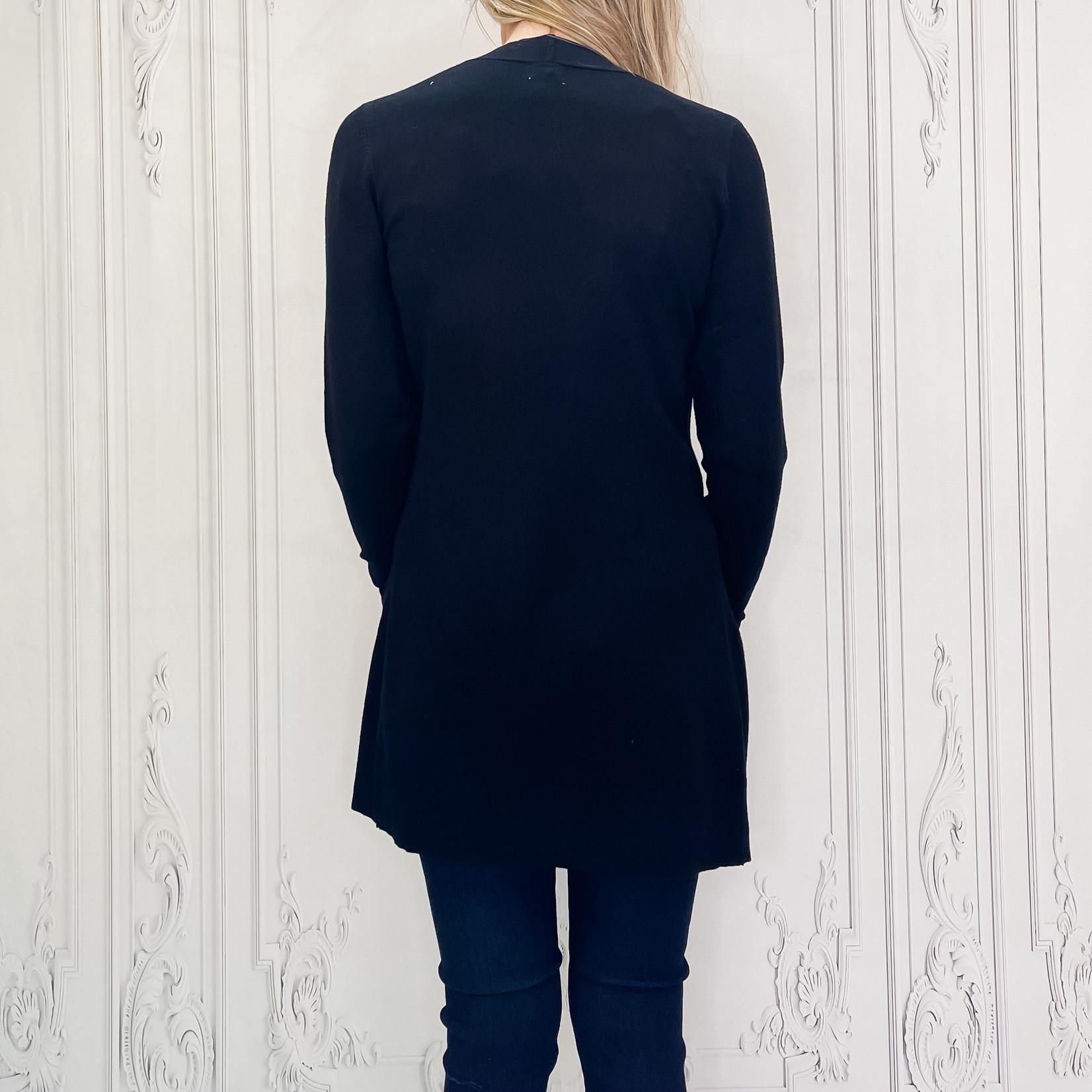 Camilla long pocket cardi
