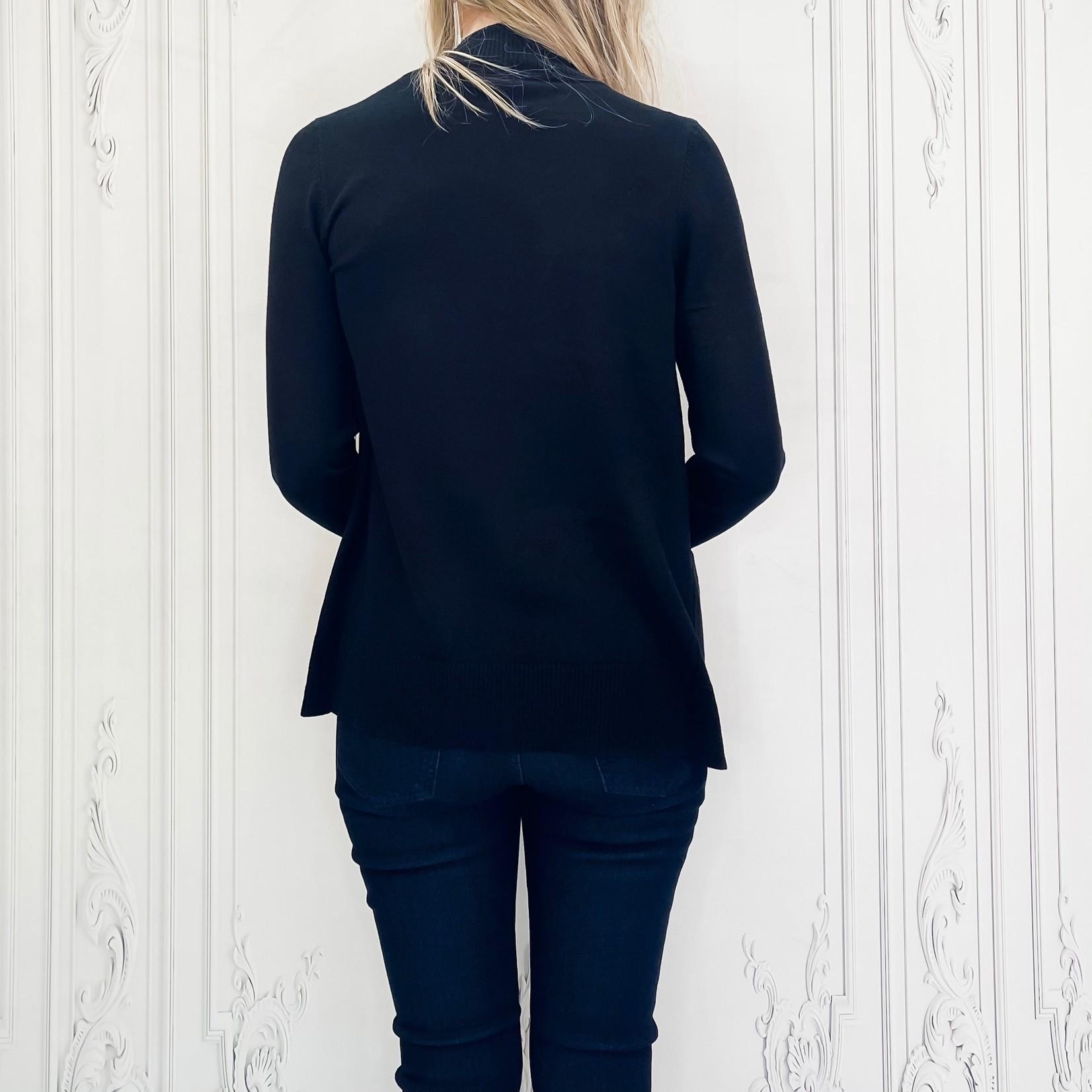 Carlotta short pocket cardigan