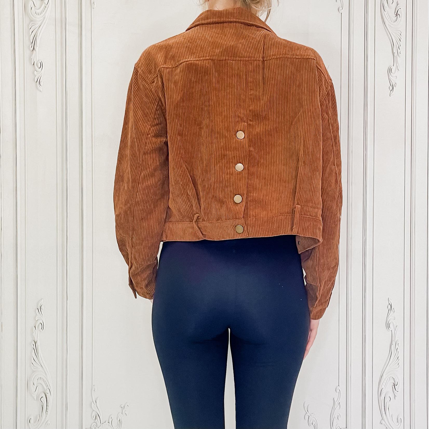 Hunter cord jacket