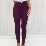 Ivy fitted high rise pants