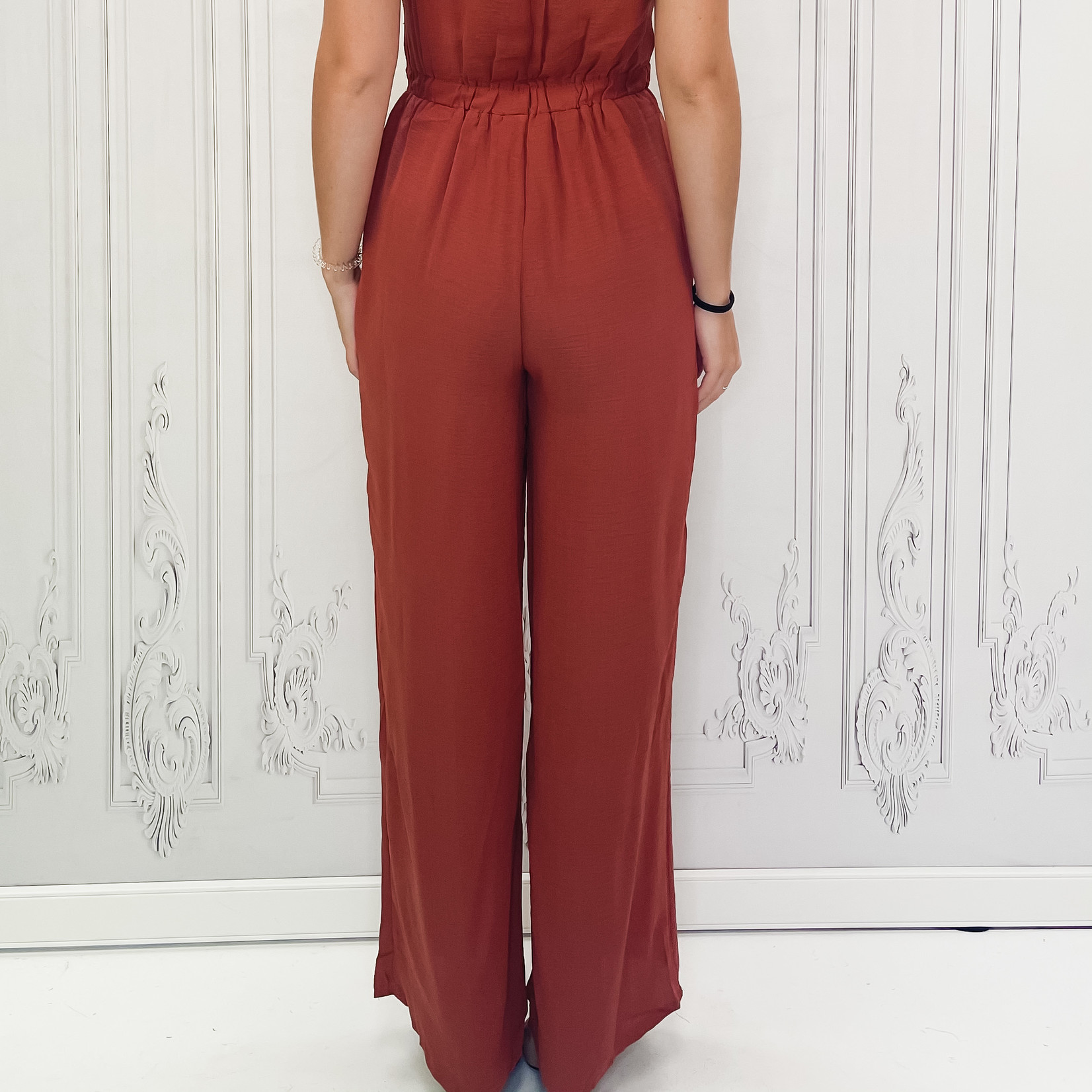 illy flutter sleeve jumpsuit