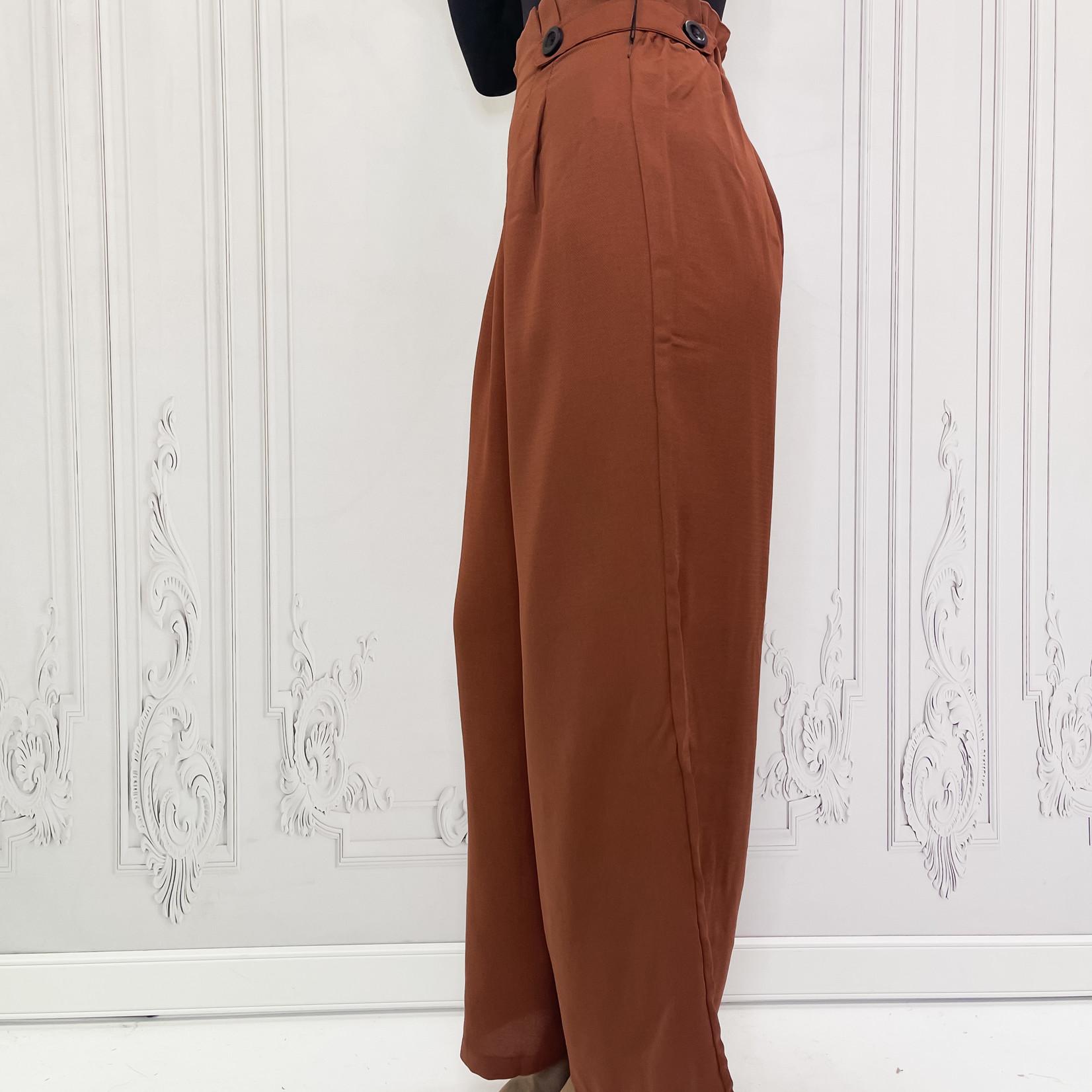 Ida wide leg dress pant