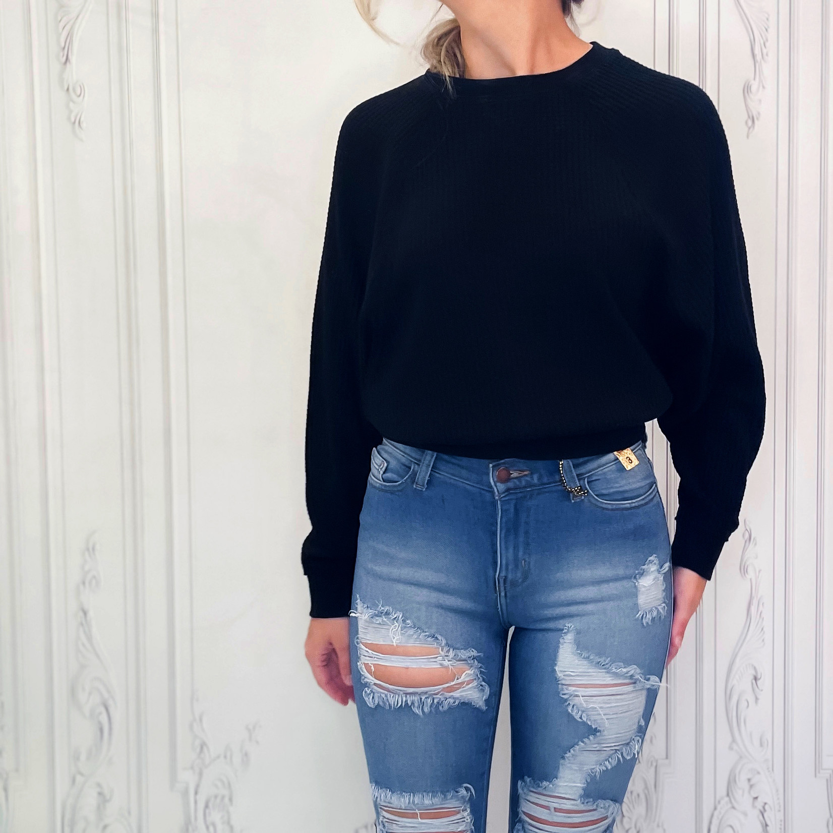 zsupply - Claire waffle long sleeve top
