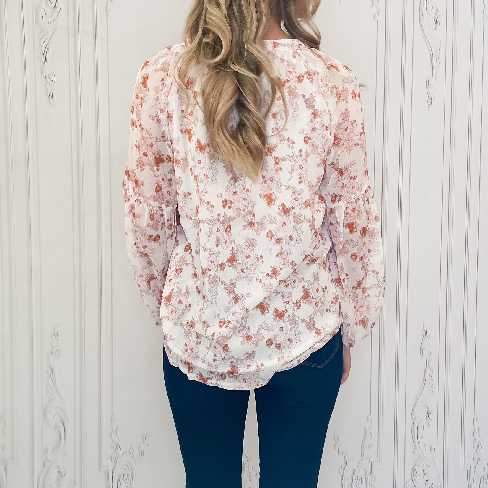 Savoie floral blouse