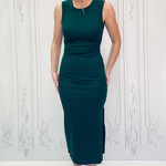 Hunt ribbed fitted midi dress