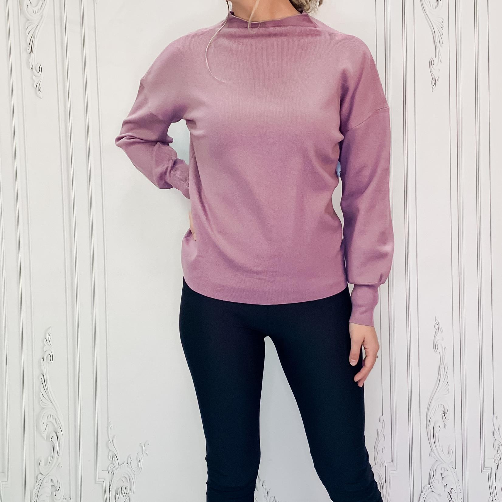 Shylo mock neck sweater