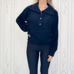 rd style - button pullover sweater