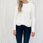 rd style - gathered detail sweater