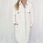 RD Style - long solid shacket