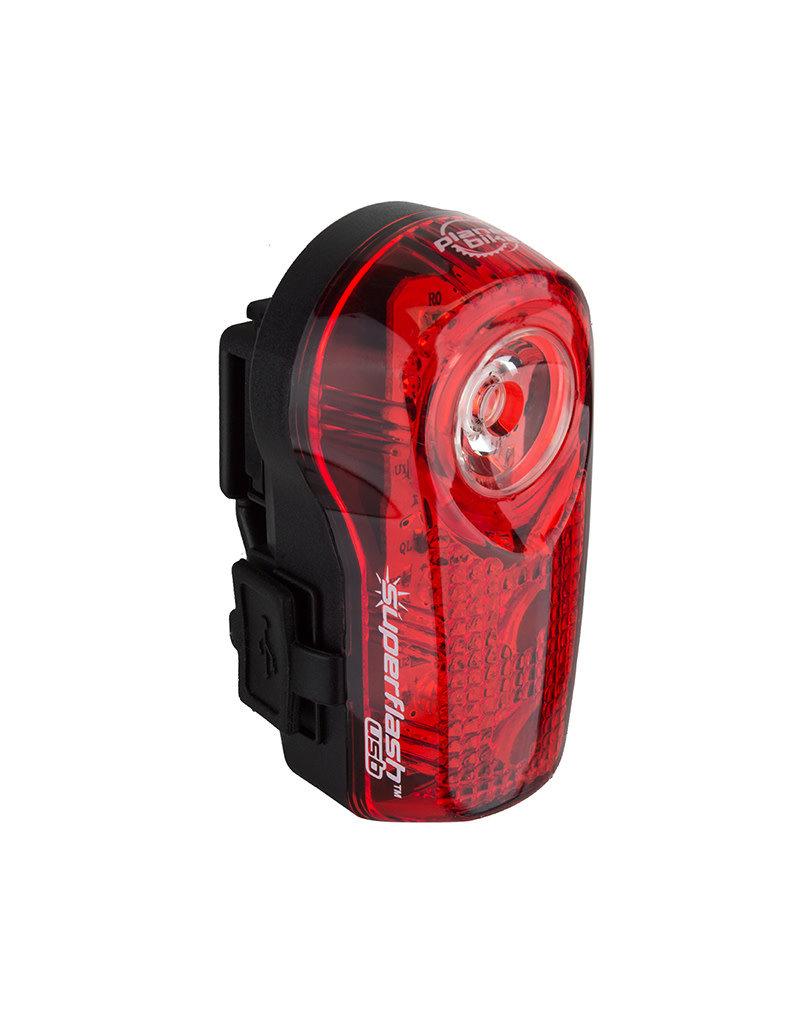 Planet Bike LIGHT PB RR SUPERFLASH USB BK