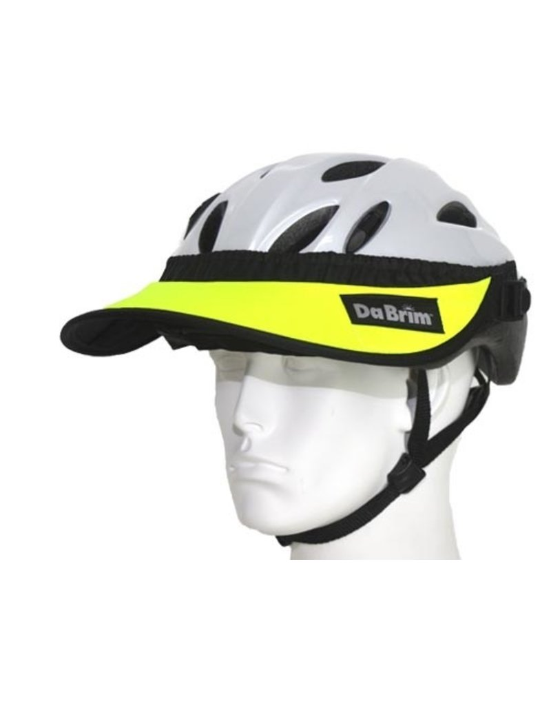 "Rezzo Helmet Visor Set 4"" Fluorescent Yellow"