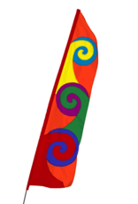 Pop Bike Flag