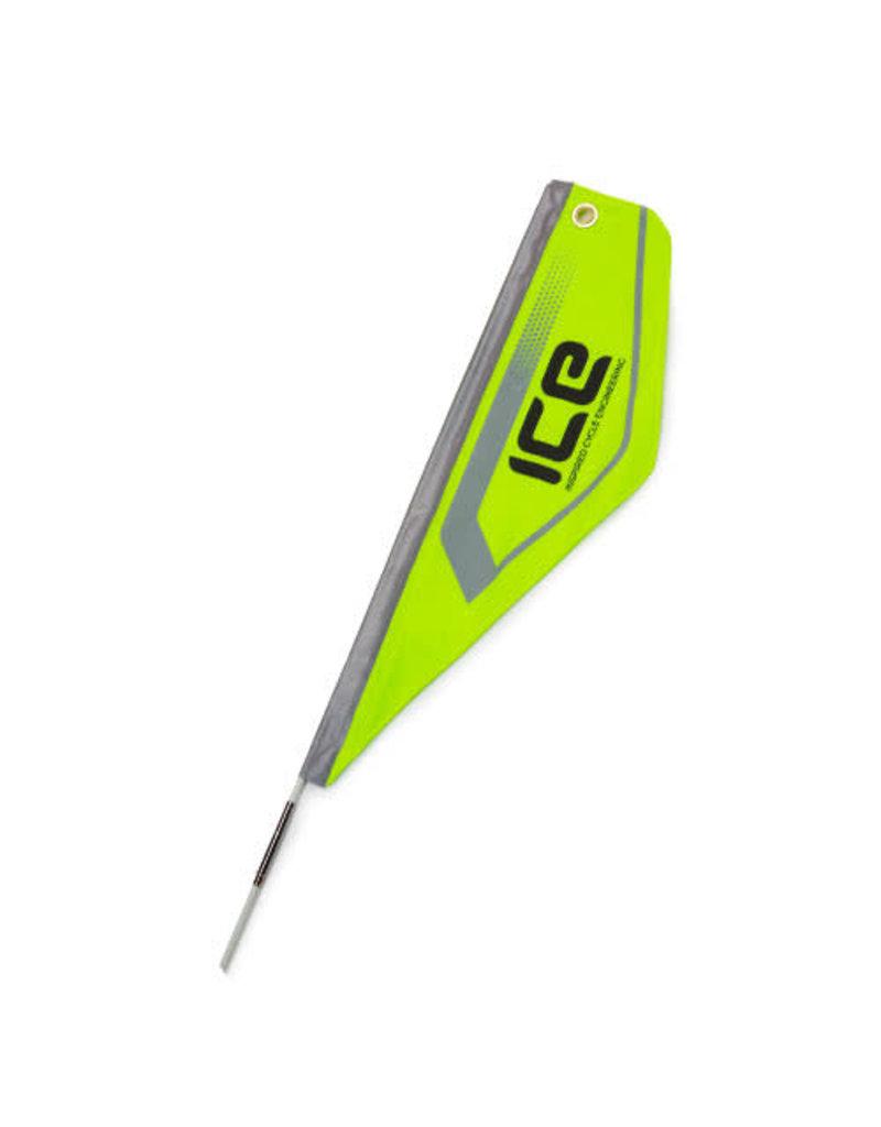 ICE ICE Flag Neon Green Reflective 02771