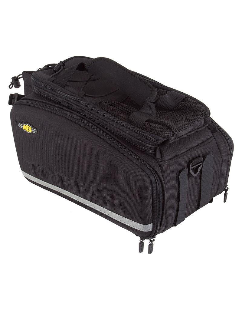 BAG TOPEAK TRUNK STRAP DXP w/PANNIER BK