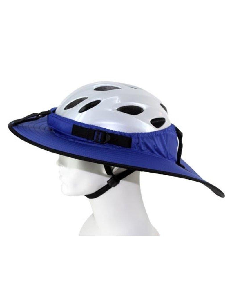 Helmet Cycling Classic Helmet Visor Blue