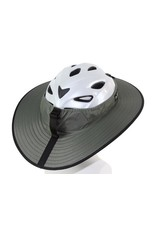 Helmet Cycling Classic Helmet Visor Grey