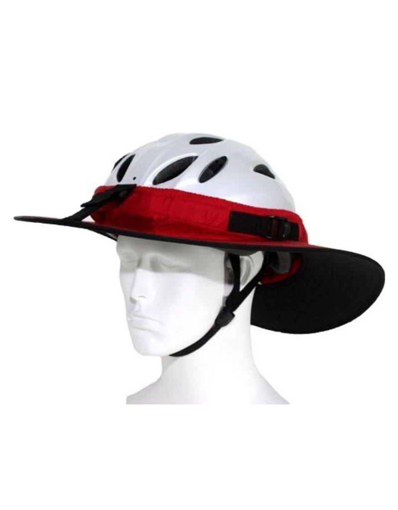 Helmet Cycling Classic Helmet Visor Red