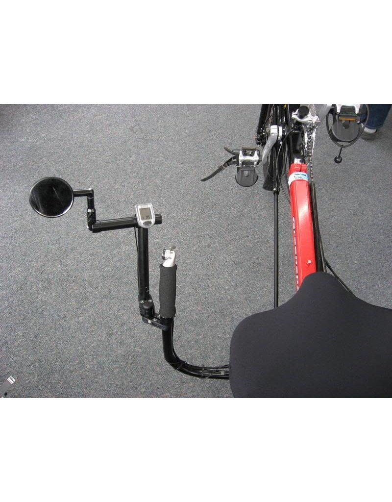 "TerraCycle TerraCycle Cockpit Mount Vertical 1"" for Catrike"