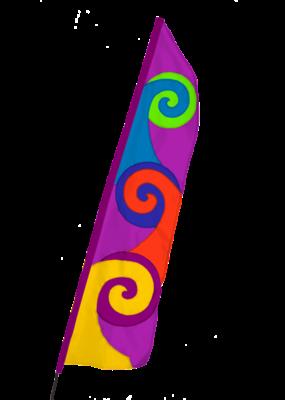Pop Bike Flag Aqua