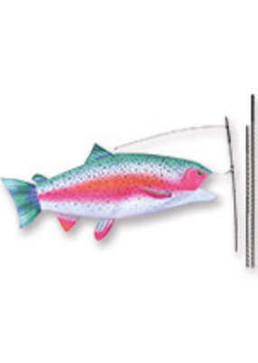 Flag Swimming Fish Rainbow Trout 53732