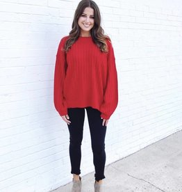 Christmas Cheer Sweater Red