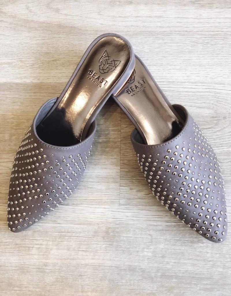 Tell Me About It Stud Flats Grey